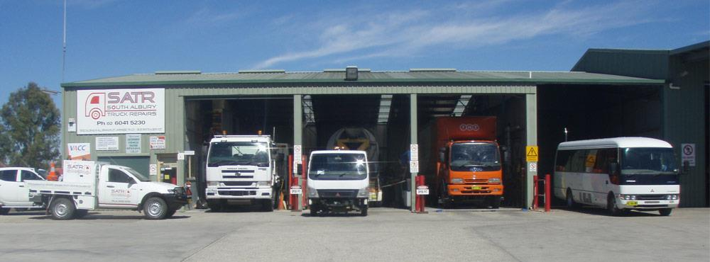 South Albury Truck Repairs - diesel mechanic & truck wreckers